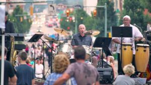 Wooster Art and Music Fest Photo of band performing